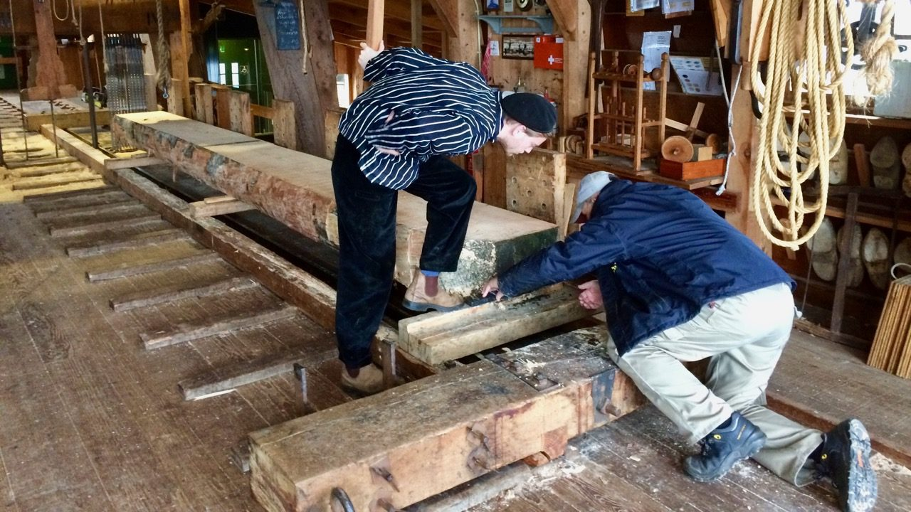 Experience Waterland lumber mill