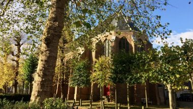 The church of Broek in Waterland is one of the oldest in Holland and lovingly restored.