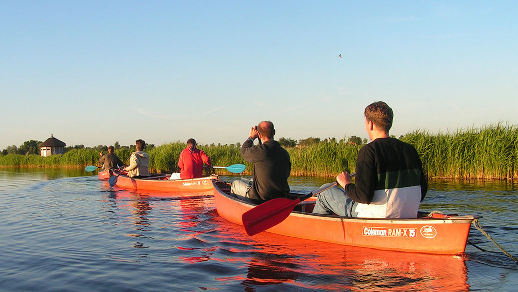 Experience Waterland canoetour
