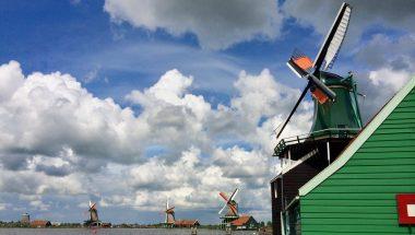 Zaanse Schans Huisman spice mill